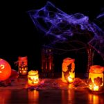 Decoration Dark Glow Fall Halloween Glowing