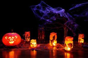 Decoration Dark Glow Fall Halloween Glowing