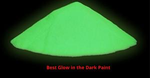 Best Glow in the Dark Paint